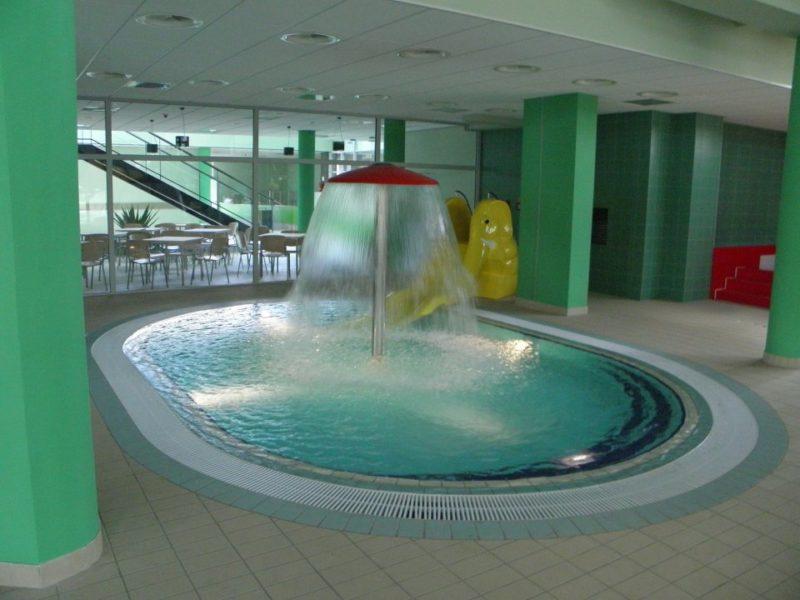 Basen Aquarius w Lesku