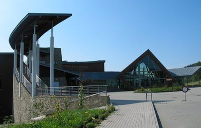 Ośrodek edukacyjny w Krempnej - budynek