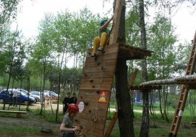 Park linowy _radawa_Ścianka