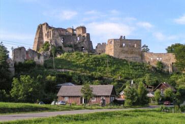 """Zamek """"Kamieniec"""" w Korczynie-Odrzykoniu"""