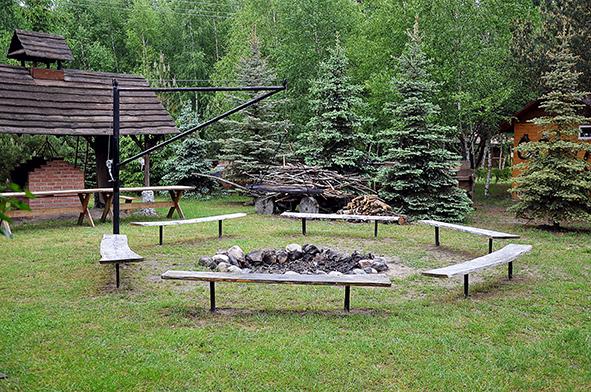 Leśna Zagroda miejsce na ognisko