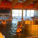 Wodotryski na basenie w Sokołowie