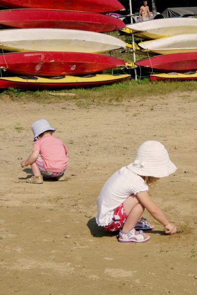 Polańczyk - zabawa na plaży