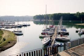 Na Jeziorze Solińskim