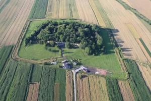 Fort Werner z lotu ptaka (fot.muzeum)