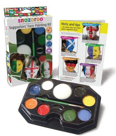 Zestaw farbek do malowania twarzy