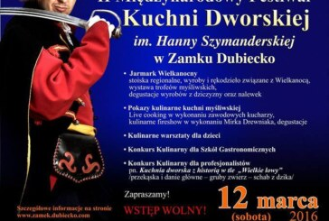 II Międzynarodowy Festiwal Kuchni Dworskiej