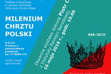 """Wystawa """"Milenium Chrztu Polski"""" w WiMBP"""