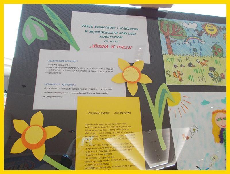 Wystawa Prac Wiosna W Poezji