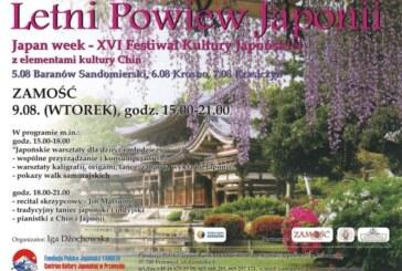 Letni powiew Japonii w Zamościu