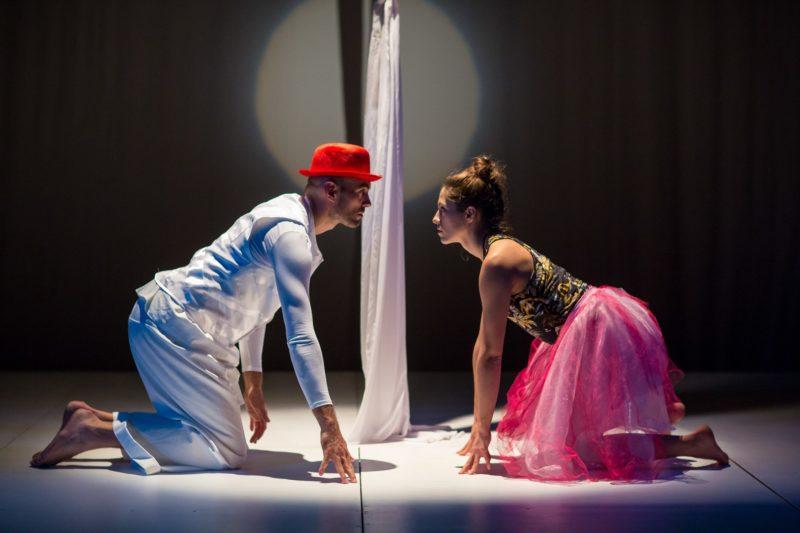 "Calineczka w Teatrze Maska (fot. Tadeusz Poźniak - materiały Teatru ""Maska"")"