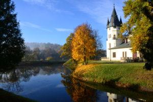 Zespół parkowo-pałacowy w Olszanicy