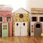 Domki dla lalek z kartonu – zrób to sam