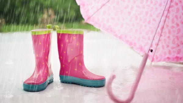 Rzeszów w deszczu
