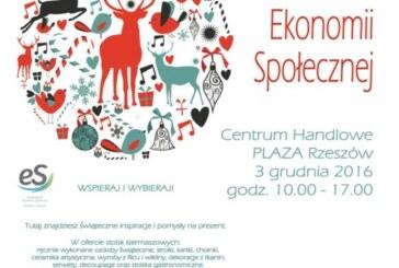 Świąteczny Kiermasz Ekonomii Społecznej, Rzeszów