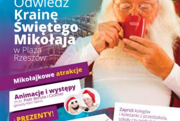 Mikołaj w Plaza Rzeszów