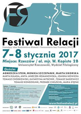 Program Festowalu Relacji w Rzeszowie
