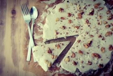 Ciasto chałwowo-gruszkowe