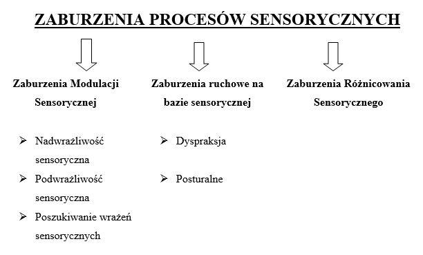 Tabela - typy zaburzeń SI