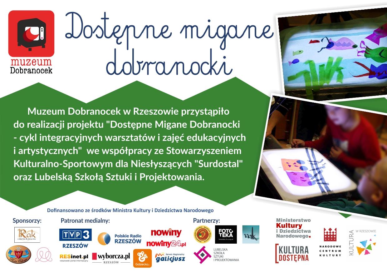 """""""Migane Dobranocki"""" dla niesłyszących"""