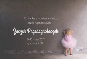 """""""Żaczek przedszkolaczek""""- konkurs mówienia wierszy przez najmłodszych, Krosno"""