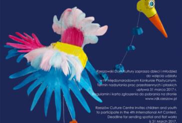 """Cykl wystaw IV międzynarodowego konkursu plastycznego """"Ptaki cudaki"""", Rzeszów"""