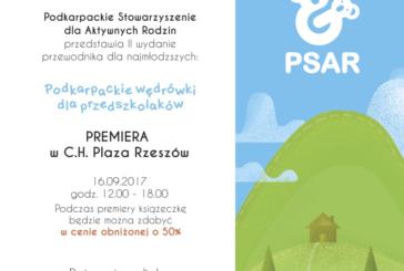"""Premiera książeczki ,,Podkarpackie wędrówki dla przedszkolaków"""" w CH Plaza !"""