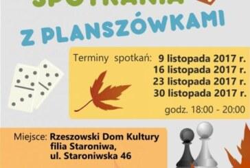 Jesienne Spotkania z Planszówkami, Rzeszowski Dom Kultury