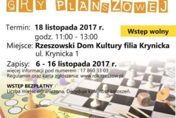 Warsztaty tworzenia gry planszowej z Rzeszowskim Domem Kultury