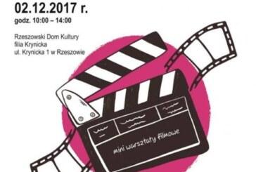 Mini warsztaty filmowe z Rzeszowskim Domem Kultury filia Krynicka, 2017