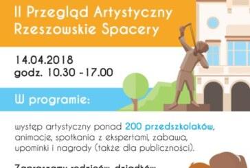 """II Przegląd Artystyczny ,,Rzeszowskie spacery"""", Rzeszów 2018"""