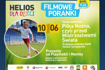 Filmowy Poranek dla Dzieci przed Mistrzostwami Świata