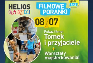 Filmowe Poranki dla Dzieci z majsterkowaniem – Kino Helios