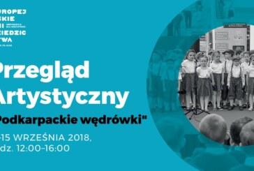 Przegląd Artystyczny dla przedszkolaków – Europejskie Dni Dziedzictwa 2018