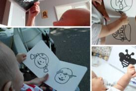 Świat dziecka pełen kontrastów