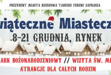 Świąteczne Miasteczko w Rzeszowie