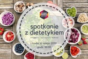 Spotkanie z dietetykiem – prezentacja, konsultacje, dyskusja