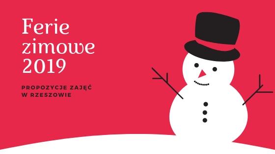 Ferie zimowe 2019 – jak dzieci mogą spędzać czas w mieście?