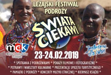 Świata Ciekawi – Leżajski Festiwal Podróżniczy