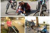 Rower z dzieckiem – test przyczepki THULE